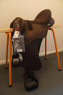 Syd Hill & Sons  Stock Saddle