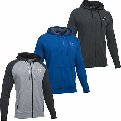 Under Armour 2017 ColdGear Sportstyle Full Zip Triblend Hoodie Mens Sports Hoody
