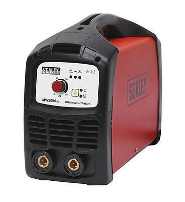Sealey Tools Mw200A Inverter Welder 200Amp 230V