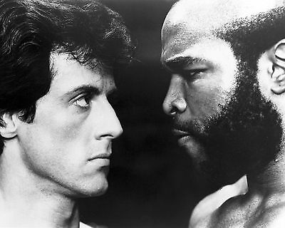Sylvester Stallone And Mr T 01 (Rocky Iii) Cast Photo Print