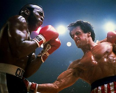 Sylvester Stallone And Mr T 04 (Rocky Iii) Cast Photo Print