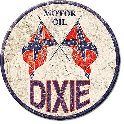 Dixie Motor Oil round fridge magnet   75mm diameter  (de)