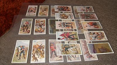 Cat £75 John Player Players Victoria Cross F/s 25 Cigarette Cards & Sleeves 1914