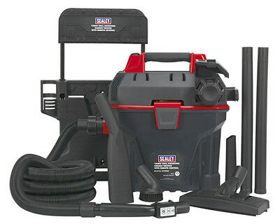 Sealey Tools Gv180Wm Garage Vacuum 1500W With Remote Control - Wall Mounting