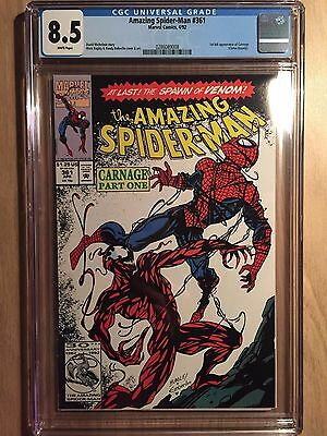 Amazing Spider-man #361 CGC 8.5 First Appearance of Carnage