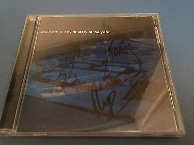 Story of the Year - Big Blue Monkey - CD Autographed