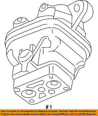 Chrysler Oem Engine Mount 06505658aa