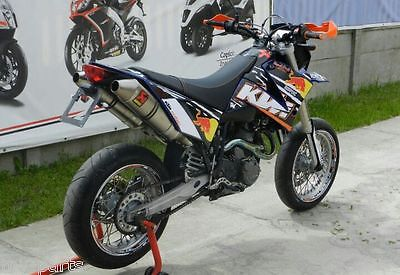 ktm lc4 640 supermoto 2005 sm dekor grafik kit akrapovic. Black Bedroom Furniture Sets. Home Design Ideas