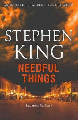 Needful Things by Stephen King Paperback Book (English)