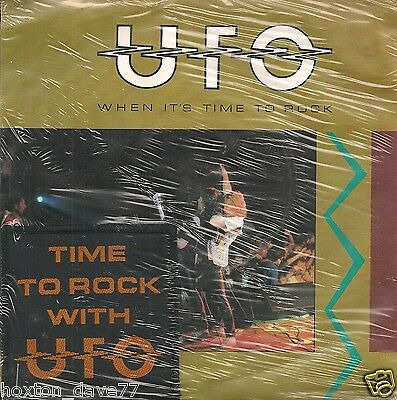 "UFO When It's Time To Rock 7"" SEALED+PATCH Magnum DIAMOND HEAD Motörhead NWOBHM"
