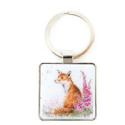 The Country Set - Fox Keyring - Charming Illustrations by Wrendale Designs