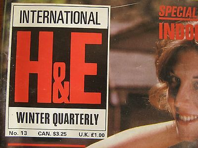 Health & Efficiency H&e Magazine Winter Quarterly 1982  Excellent Condition