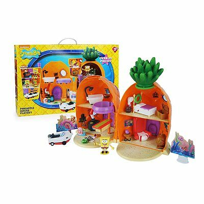 SpongeBob Squarepants Toy Pineapple House Playset - Figures Lights Sounds