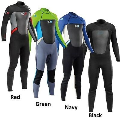 Osprey Wetsuit 3/2mm Mens Origin Adult Full Length Neoprene Steamer Wet Suit