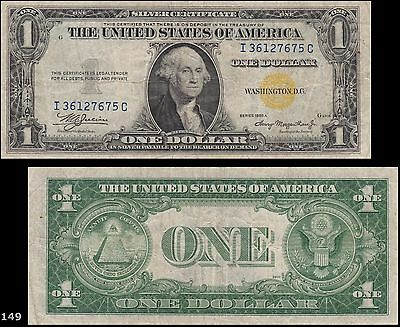 1935A North Africa $1 Emergency Silver Certificate