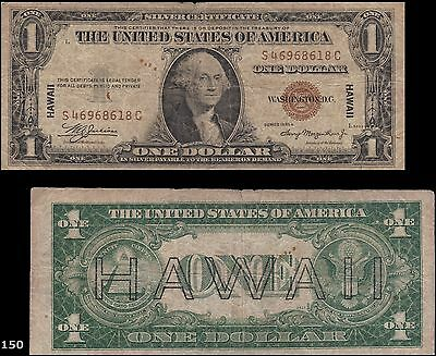 1935A Hawaii Emergency $1 Silver Certificate