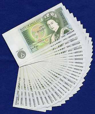 GB, Consecutive 1978 £1 Notes, One Pound, Uncirculated x30 Notes (Ref. t0285)