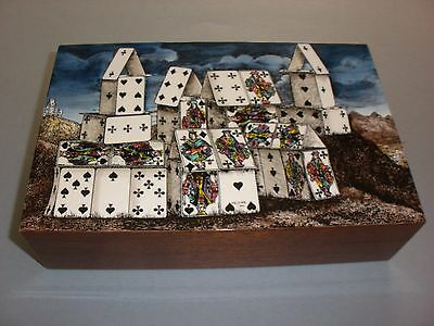Fornasetti Citta Di Carte Limited Edition Playing Cards Box New