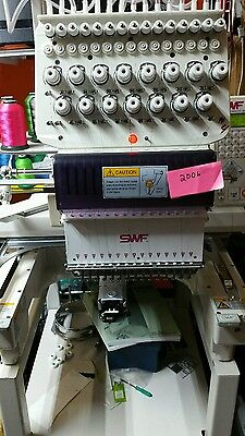 2006 Swf embroidery machine