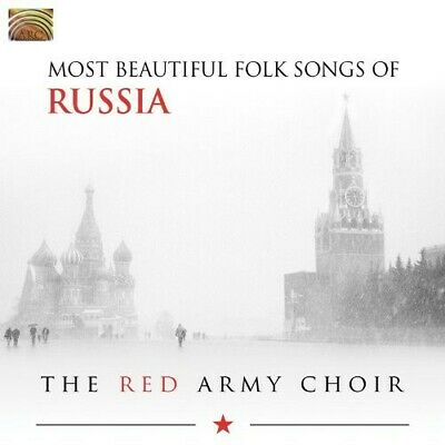 The Red Army Choir - Most Beautiful Folk Songs of Russia [New CD]