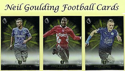 Topps PREMIER GOLD 2016 'Brilliance of the Pitch' Premium Football Insert Cards