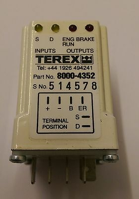 Anti Start Module Benford Terex TV800 TV900 8000-4352