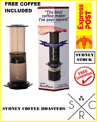 Aeropress Including Free Gourmet Coffee And 350 Filters And Free Postage