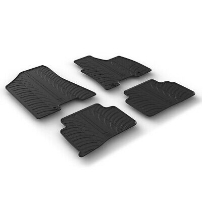 Hyundai Tucson (2nd Gen) 2015 - 2016 Tailored Rubber Moulded Car Floor Mats Set