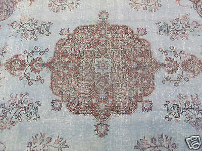 ANTIQUE DELIGHTFUL HANDMADE TURKISH ORIENTAL RUG (296 x 196 cm)