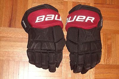 """ARIZONA COYOTES Connor Murphy game-worn Bauer Total One MX3 gloves 15"""" (2016-17)"""