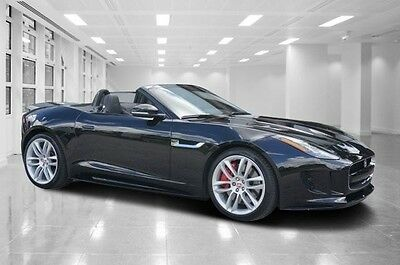 2016 Jaguar F-Type  Used 2016 Jaguar F Type R Convertible 550 HP Supercharged Sport Active Exhaust