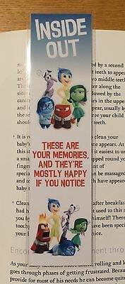 Inside Out Bookmark