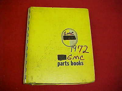1967 1968 1969 1970 1971 1972 Gmc 1500 2500 Truck Jimmy Nos Parts Catalog Book