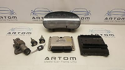 Vw Polo 9N 1.4 Tdi  Engine Amf / Ecu And Lock Set 045906019Bf