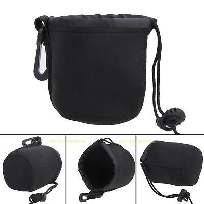 Universal Neoprene Waterproof Soft Pouch Bag Case For Video Camera Lens S/M/L/XL