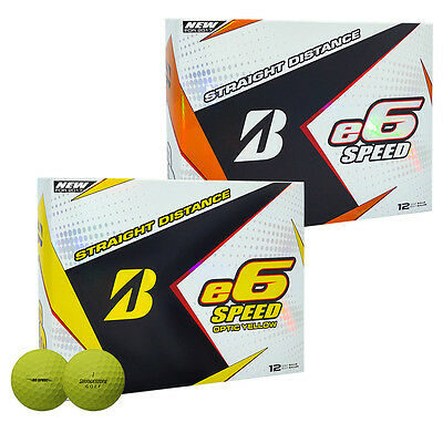 2017 Bridgestone E6 Speed Golf Balls NEW