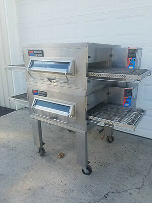 Middleby Marshall PS536 Electric Double Stack Conveyor Pizza Oven **Very Nice**