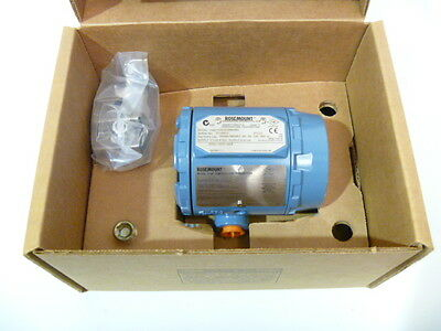 Rosemount 3144P D1A1E5B4M5DA1 4-Wire Display Temp. Transmitter 2012 NEW IN BOX