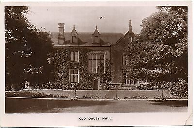 P.C Old Dalby Hall Leicester Leicestershire Real Photographic Pub Townes Series