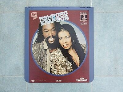 Ashford & Simpson CED Music Video Disc PAL/UK