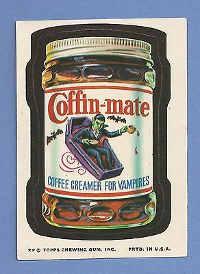 1974 Topps Wacky Packages Series 10 COFFIN-MATE