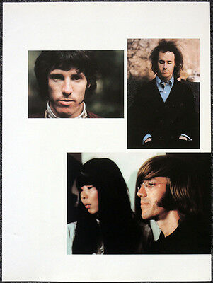 The Doors Poster Page . Ray Manzarek Robby Krieger John Densmore . H56