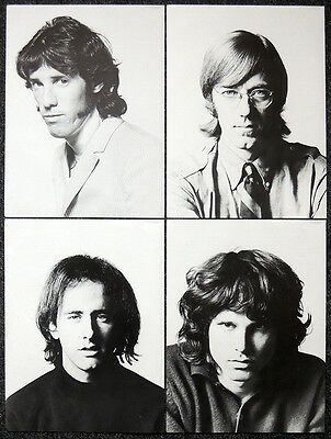 The Doors Poster Pagex4 Jim Morrison Ray Manzarek Robby Krieger John Densmore H1
