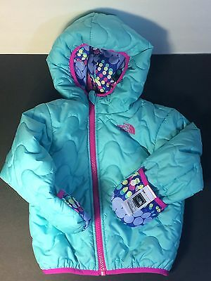 The North Face Jacket Perrito Baby Infant 18-24 months Reversible Short Coat