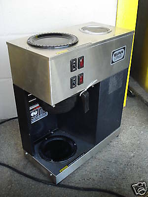 Nice Condi Bunn Pour Over Coffee Brewer With 2 Warmers