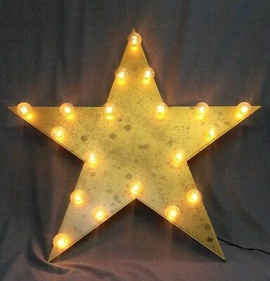 Large Lighted Star