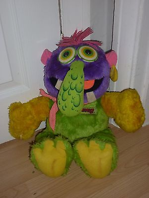 Vintage Zugly Soft Plush 18 Inch Toy Monster 1986 Marchon like my pet monster