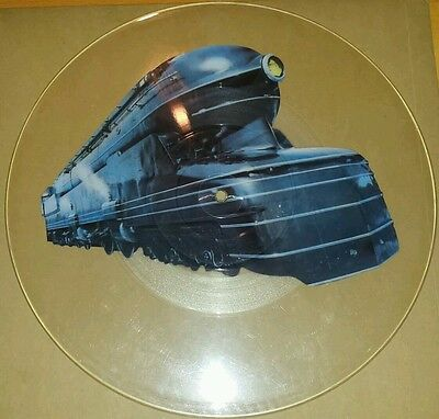 UNCUT 7in picture disc A-HA Train of Thought RARE Aha record single collectable