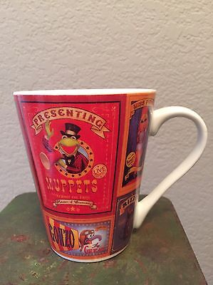 The Muppets Circus Coffee Cup Mug Kermit, Miss Piggy, Gonzo, Fozzie, Animal