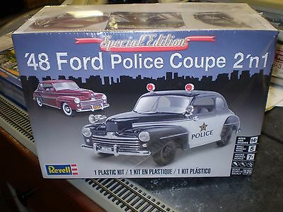 Revell 85-4318 Special Edition 1948 Ford Police Coupe 2 'n 1, 1/25, New NIB